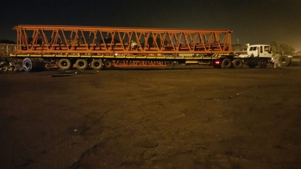 Star Shipping Oversee Transport of Steel Structures to