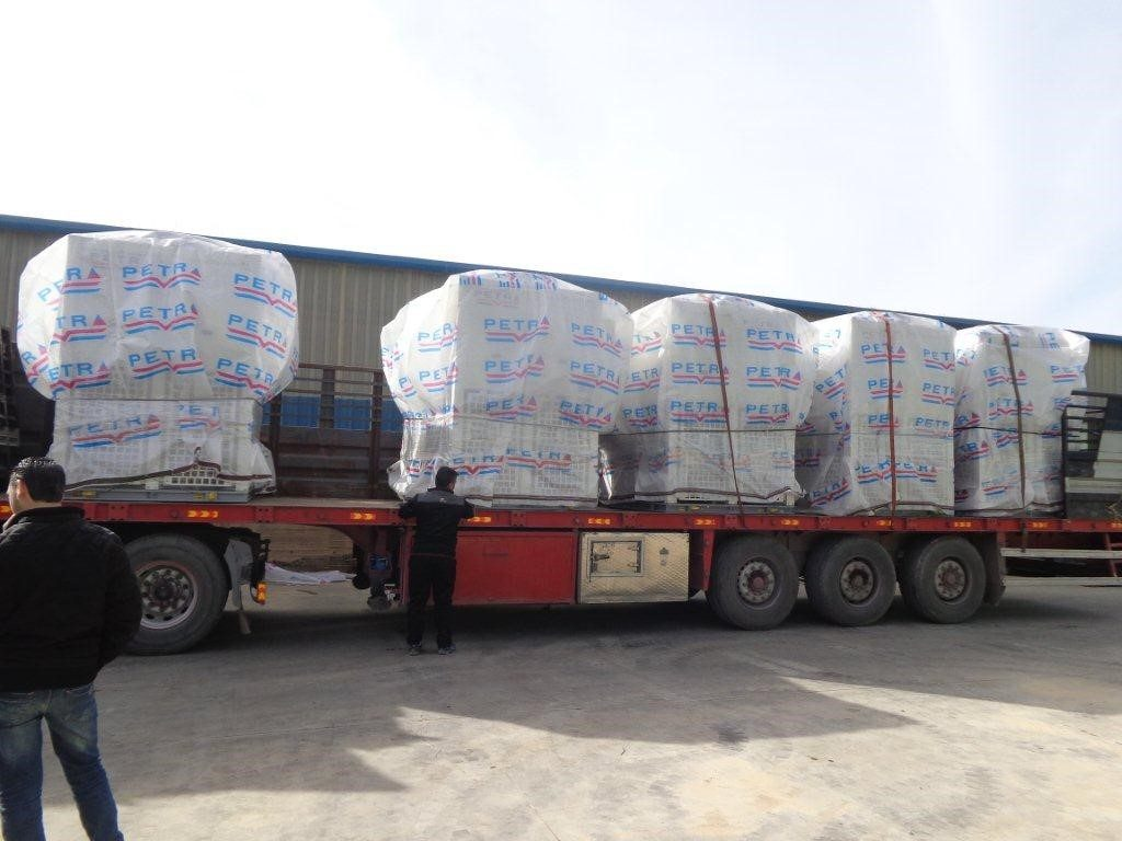 First global Logistics – Kuwait Oil Company's Lower Fars oil project