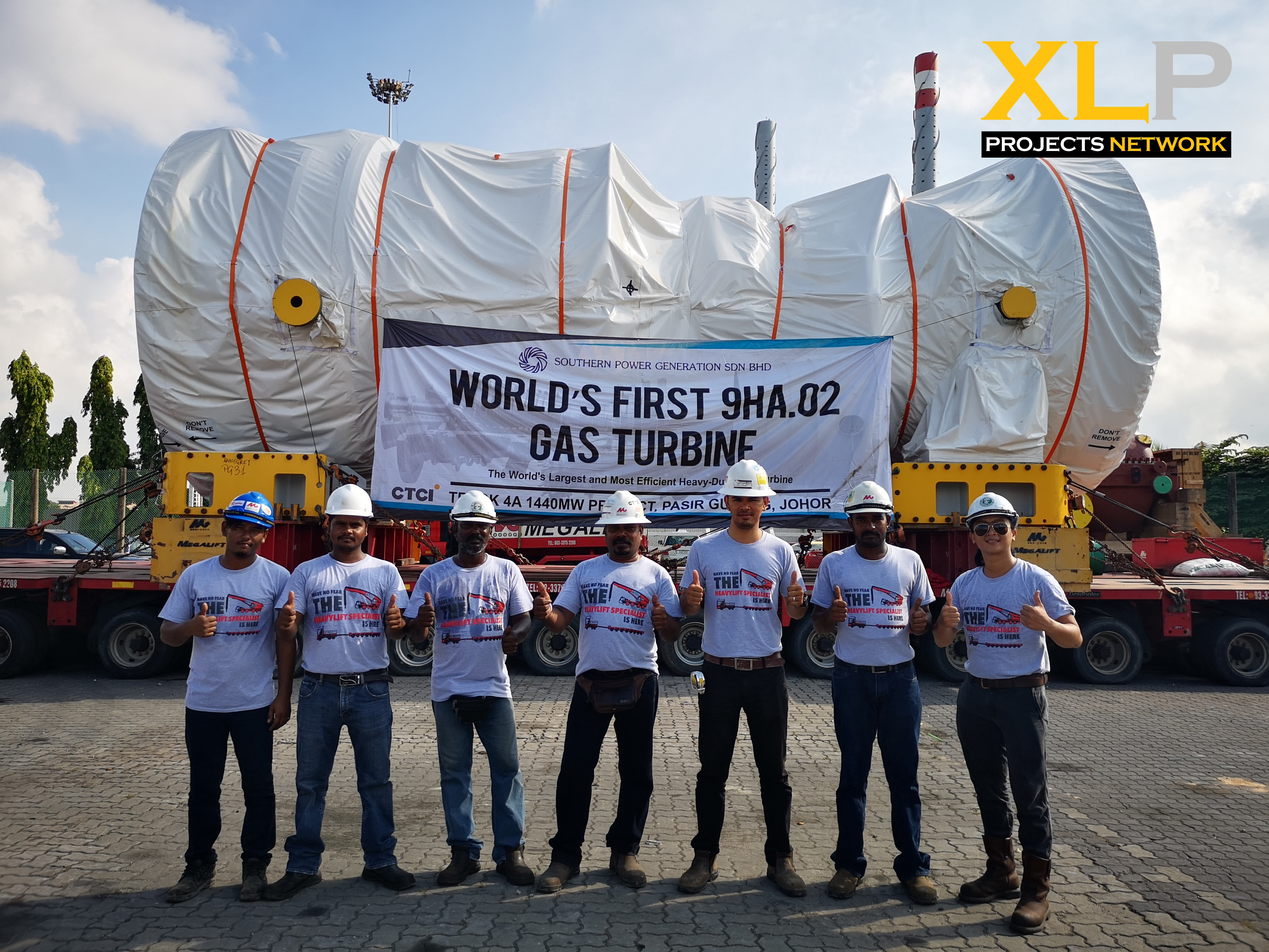 Megalift Successfully Move Two Units of the World's Largest