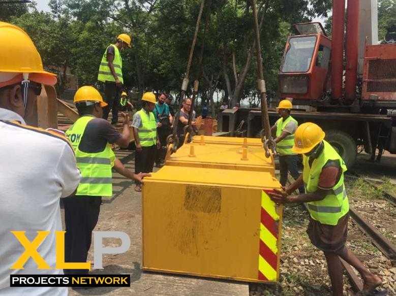 Tricom Logistics Group Complete Bangladesh Railway Crane